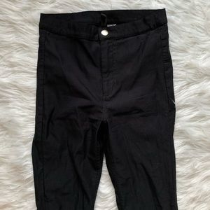 Extremely high waisted stretch dress pant